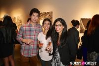 IvyConnect Art Gallery Reception at Moskowitz Gallery #92