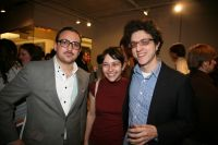 Photographer Michael Buhler Rose, Erica Barmash and Humble Co-Founder and Curatorial Director Jon Feinstein