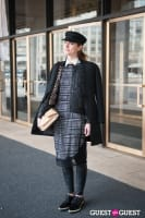 NYC Fashion Week FW 14 Street Style Day 7 #12