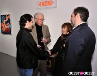 Retrospect exhibition opening at Charles Bank Gallery #44