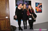 Retrospect exhibition opening at Charles Bank Gallery #42