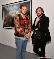 Retrospect exhibition opening at Charles Bank Gallery #56