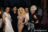 MRS.NEW YORK YULIA GURTIN, DESIGNER MALAN BRETON, AMANDA LEPORE, DESIGNER VLADI IBADOV AND COGNAC WELLERLANE TV HOSTESS