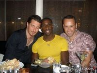 Arthur Boujenah, Naeem Delbridge, and Scott Buccheit at Gusto