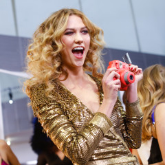 Karlie Kloss & Gigi Hadid Have A Diane von Furstenberg Dance Party