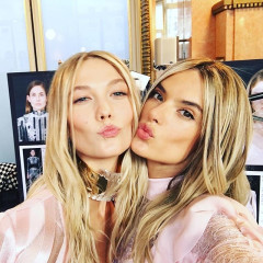 Behind The Scenes: Kendall, Gigi, Karlie & More Backstage At Balmain