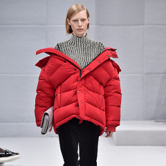 A Look At Demna Gvasalia's Balenciaga Debut At Paris Fashion Week