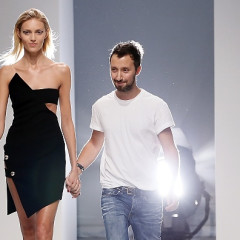 11 Times Anthony Vaccarello Has Flashed Some Model Vagina On The Runway