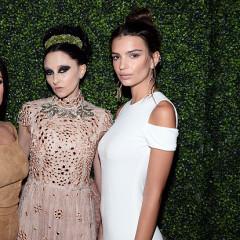 Kourtney Kardashian & Emily Ratajkowski Toast Alice + Olivia In L.A.