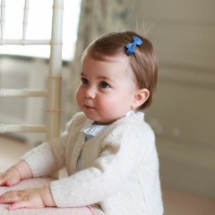 The Royals Release New Photos Of Princess Charlotte For Her First Birthday