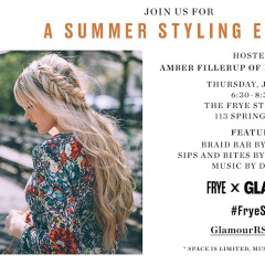 You're Invited: Frye and Glamour Summer Styling Event