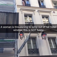 Hey, Mykki Blanco, Can You NOT Use A Suicide Attempt To Promote your Snapchat?