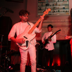 Chairlift Brings Indie Cool To Esquire's Men's Fashion Week Party