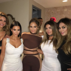 J. Lo's Birthday Party Was Pretty Much A Meeting Of The Taylor Swift Fan Club