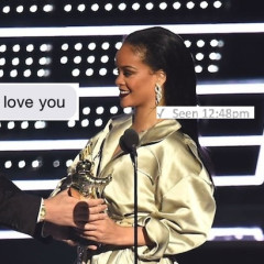 Drake Professed His Love For Rihanna At The VMAs. Her Reaction?