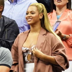 Beyoncé & Jay Z Play It Super Cool Next To Reddit Founder At The US Open