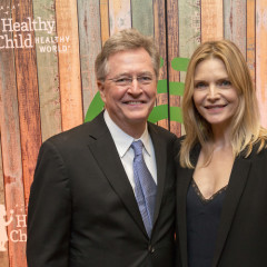 Ali Landry & Michelle Pfeiffer Attend Healthy Child Healthy World's L.A. Gala 2016