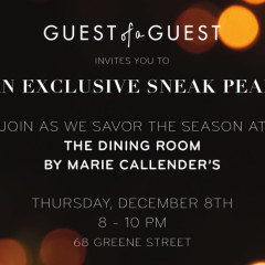 An Exclusive Sneak Peek, The Dining Room By Marie Callender's