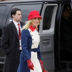 The Funniest Tweets About Kellyanne Conway's Inauguration Outfit