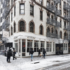 Scenes From A Most Snowy New York Morning