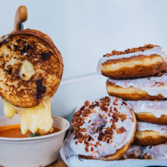 Grilled Cheese Doughnuts Have Come To New York