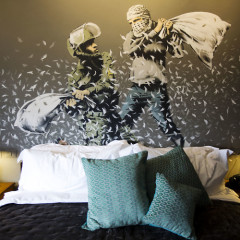 Inside Banksy's Freaky & Mysterious New Hotel