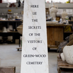 Sophie Calle Will Bury Your Secrets In Green-Wood Cemetery This Weekend