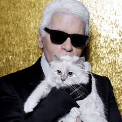 Karl Lagerfeld Is Selling A Stuffed Animal Version Of His Cat, Choupette