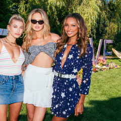 Hailey Baldwin & Romee Strijd Partied With Revolve In The Hamptons This July 4th