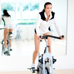 This New Spin Bike Powers Your Netflix Binge