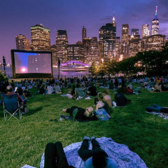 All The Free Outdoor Movie Screenings You Can Still Catch In NYC