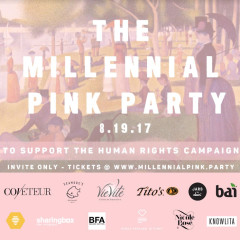 The Millennial Pink Party