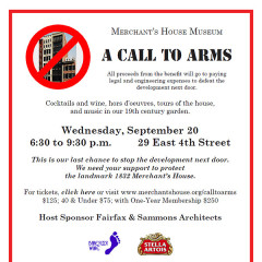 September Benefit: A Call to Arms!