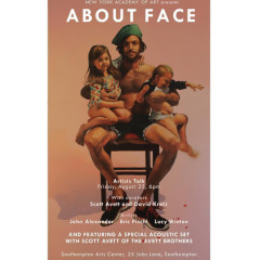 "Artist Talk for The Exhibition ""About Face"""