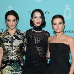 St. Vincent & Riley Keough Toast To Tiffany & Co.'s  New Fragrance
