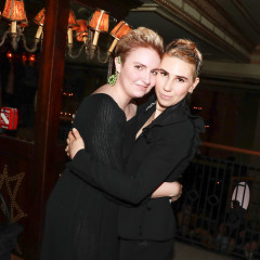 Lena Dunham & Jenni Konner Celebrate The 2nd Anniversary Of Lenny