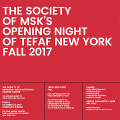 Opening Night of TEFAF New York Fall 2017