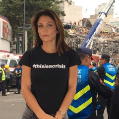 Bethenny Frankel Flies To Help Puerto Rico After Skin Cancer Surgery