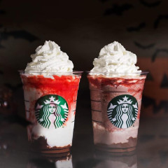 Starbucks Just Launched A Vampire Frappuccino