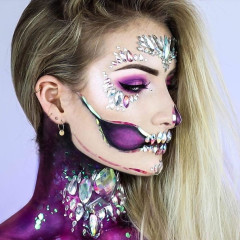 5 Glam Halloween Makeup Tutorials For A Last-Minute Look