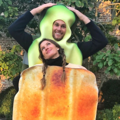 Gisele & Tom Brady Had The Most Basic Bitch Couples' Costume Of Halloween