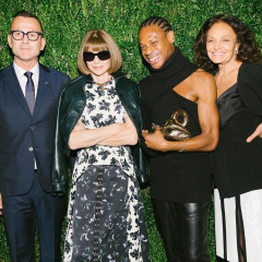 Anna Wintour Heads To Brooklyn For The 2017 CFDA/Vogue Fashion Fund Awards