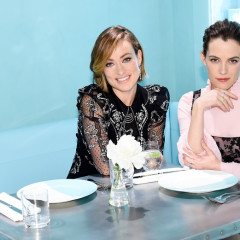 Olivia Wilde Toasts The Opening Of Tiffany's New Cafe