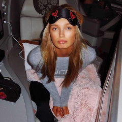 How The Victoria's Secret Angels Do Jet-Set Style