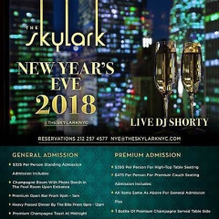 Ring in the New Year at The Skylark