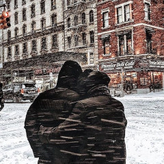 Snowy Scenes From NYC's Bomb Cyclone
