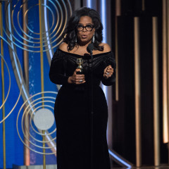 Oprah's Cecil B. DeMille Speech Won The Golden Globes