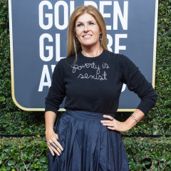 The Story Behind Connie Britton's 'Poverty Is Sexist' Sweater