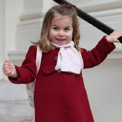 It's Princess Charlotte's First Day Of ($14,000-A-Year) School!