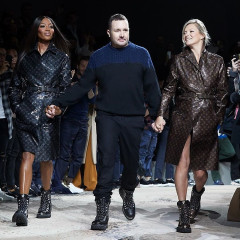 Kate Moss & Naomi Campbell Reunite On The Catwalk For Louis Vuitton